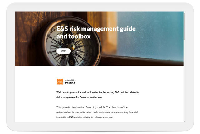E&S risk management guide and toolbox