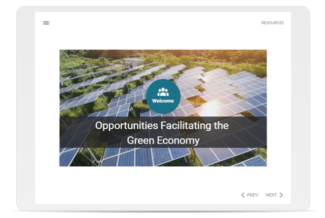 Opportunities Facilitating the Green Economy