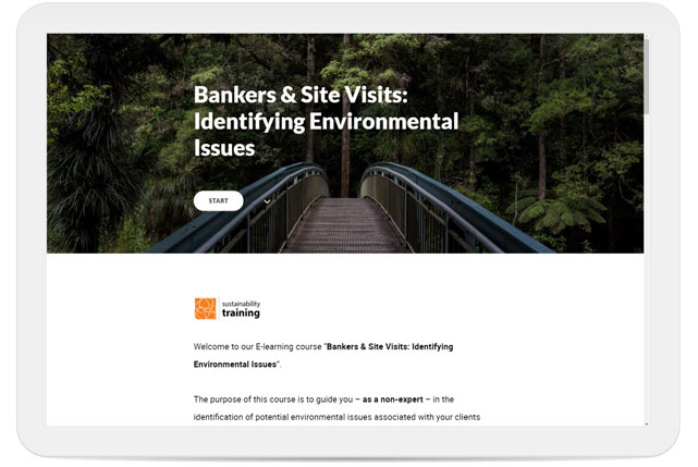 Banker and Site Visits: Identfying Environmental Issues