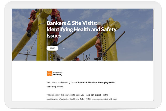 Bankers and Site Visits: Identifying Health and Safety Issues