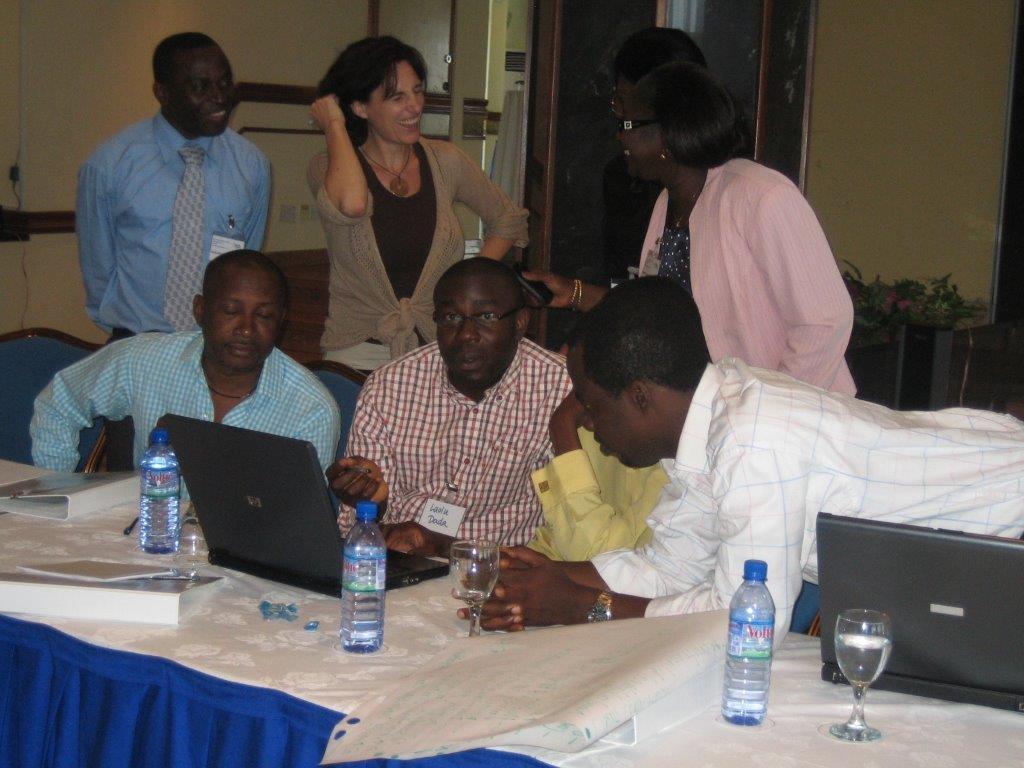 Training group / Ghana
